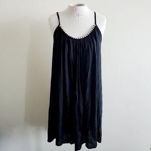 BALI QUEEN Black Silver Beaded Dress